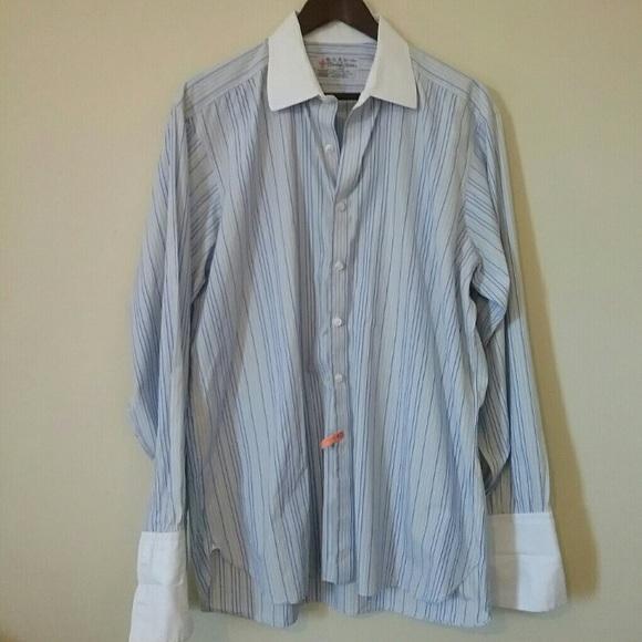 Turnbull & Asser Shirts | Turnbull And Asser Dress Shirt | Poshmark